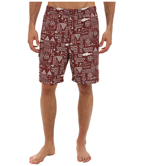 O'Neill - Boardwalk Boardshorts (Red) Men's Swimwear