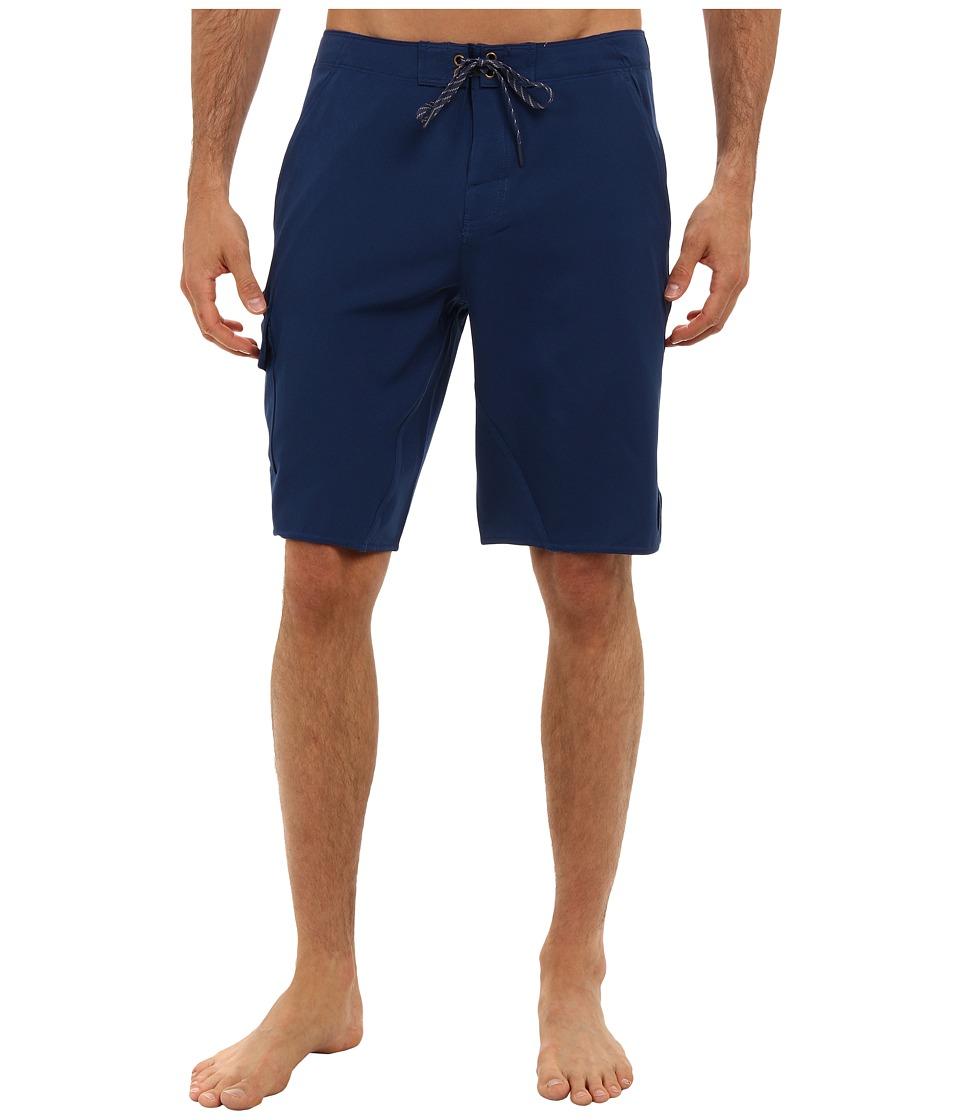 O'Neill - Flatwater Boardshorts (Navy) Men's Swimwear