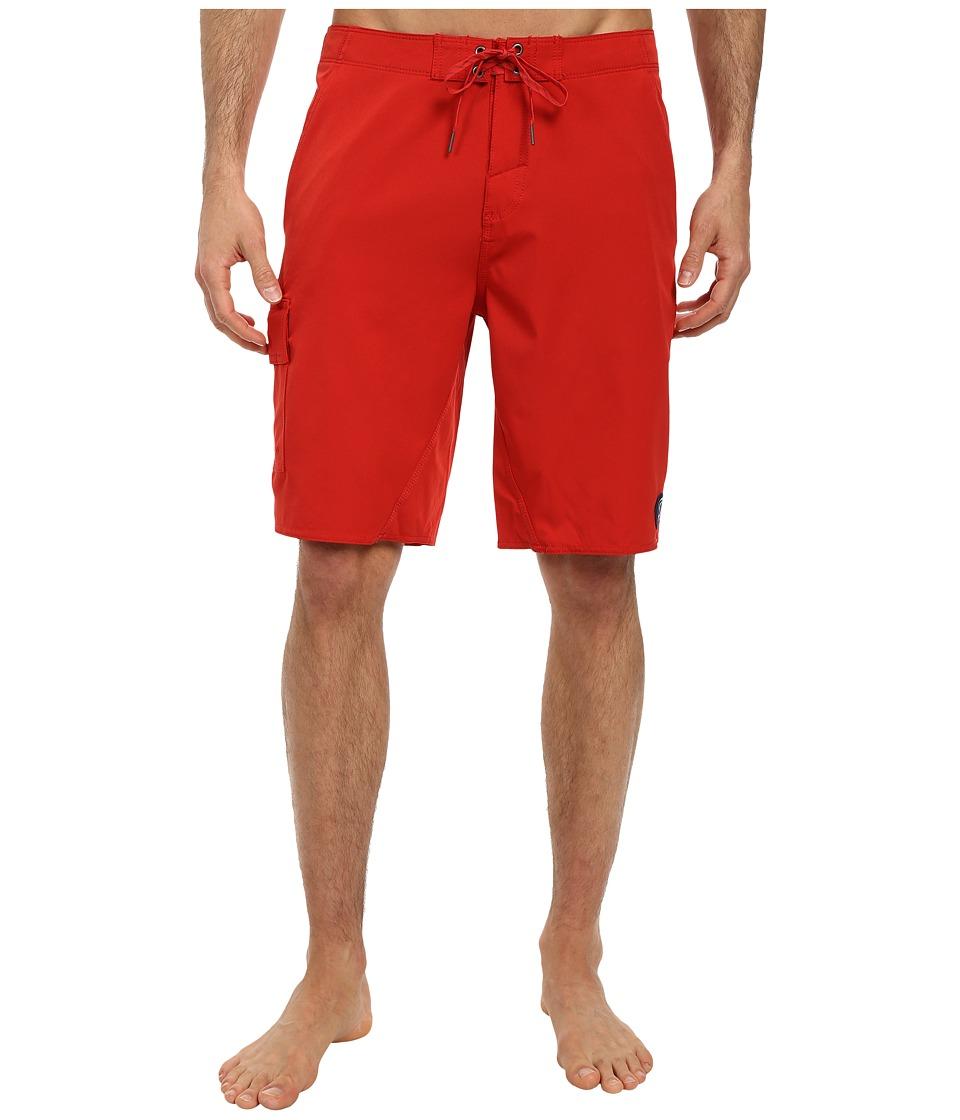 O'Neill - Flatwater Boardshorts (Red 2) Men's Swimwear