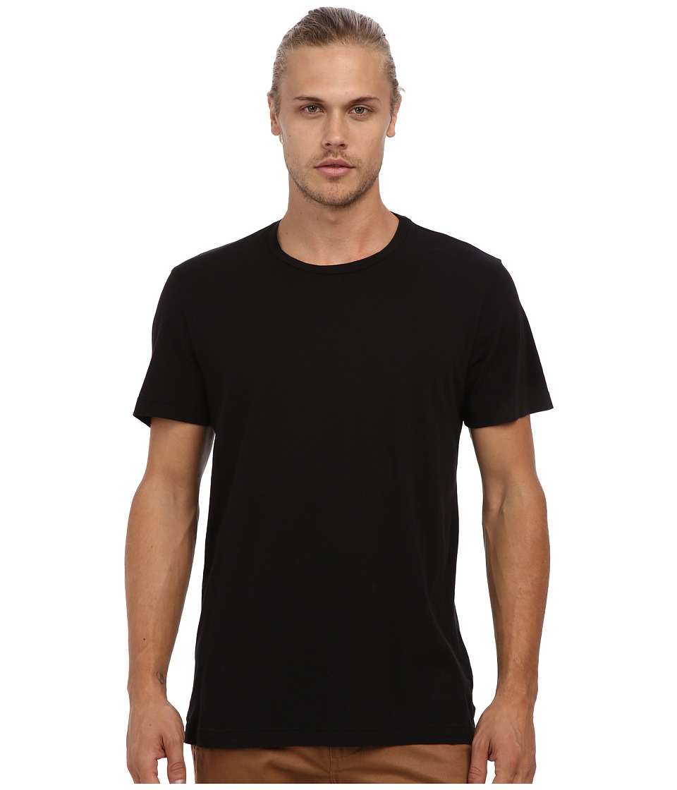 Velvet by Graham & Spencer - Howard S/S Crew Neck Whisper Jersey T-Shirt (Black) Men's T Shirt