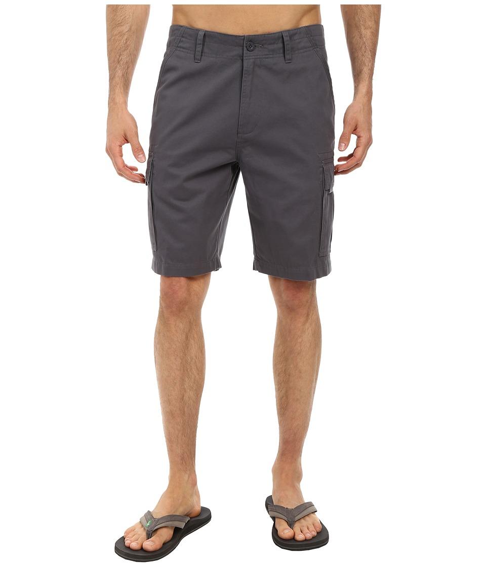 Jack O'Neill - Monte Verde Walkshort (Charcoal) Men's Shorts