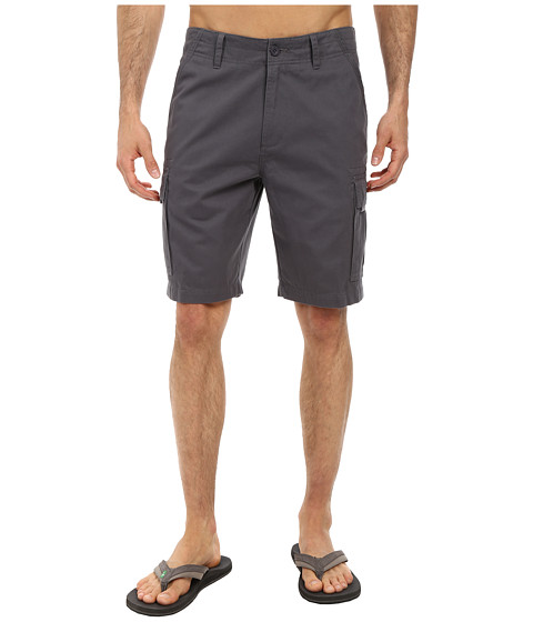 Jack O'Neill - Monte Verde Walkshort (Charcoal) Men's Shorts