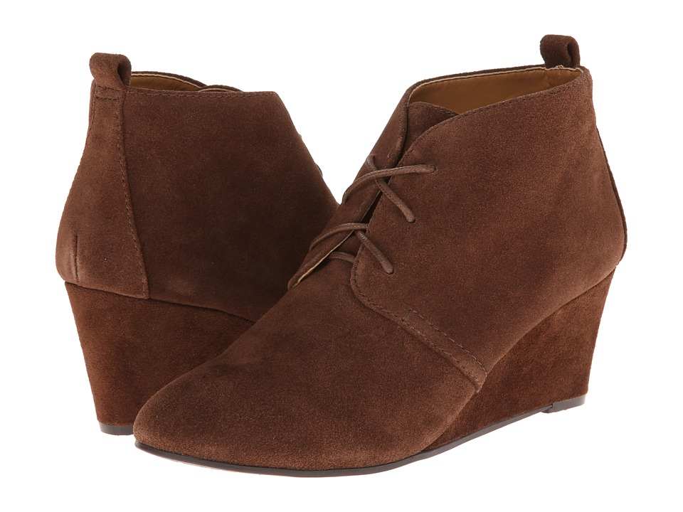 Nine West - Illusion (Brown Suede) Women's Lace up casual Shoes