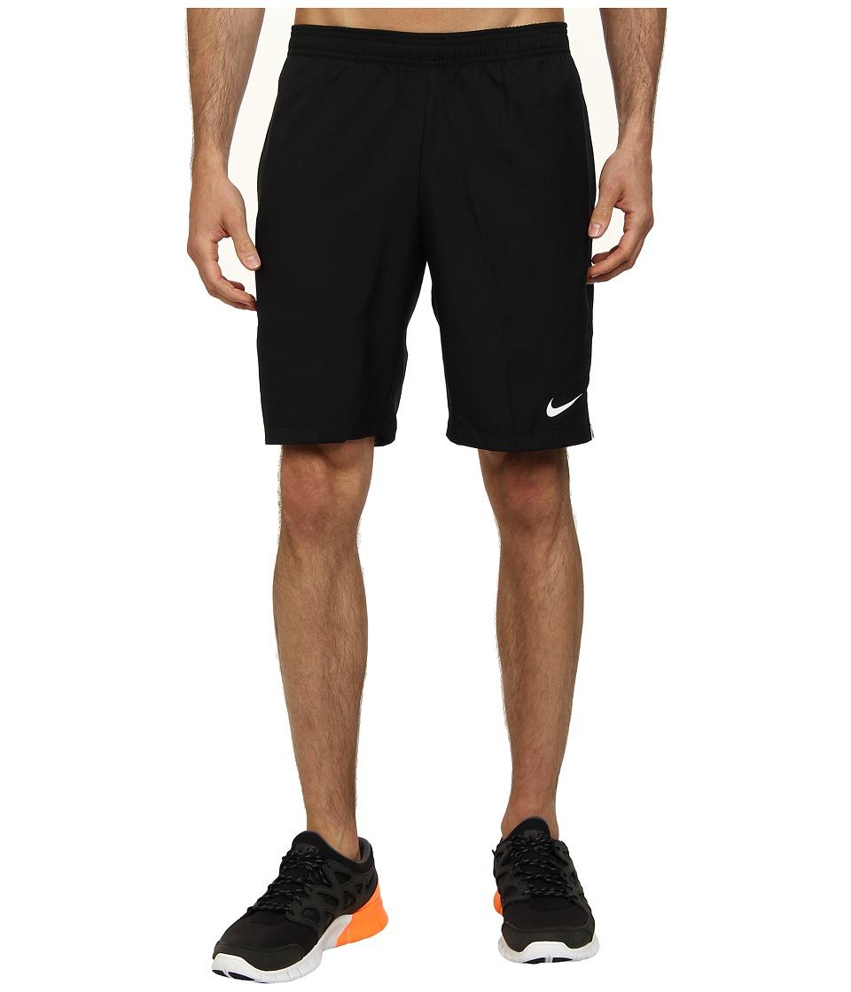 Nike - Court 9 Short (Black/Black/White Multi Snake) Men's Shorts