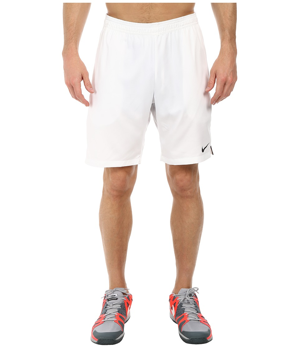 Nike - Court 9 Short (White/Black/White) Men's Shorts