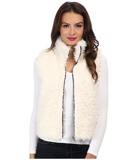 C&C California - Faux Lamb Vest (Turtledove) Women