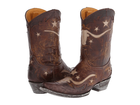 Old Gringo - Bodacius (Brass/Bone/Chocolate) Cowboy Boots