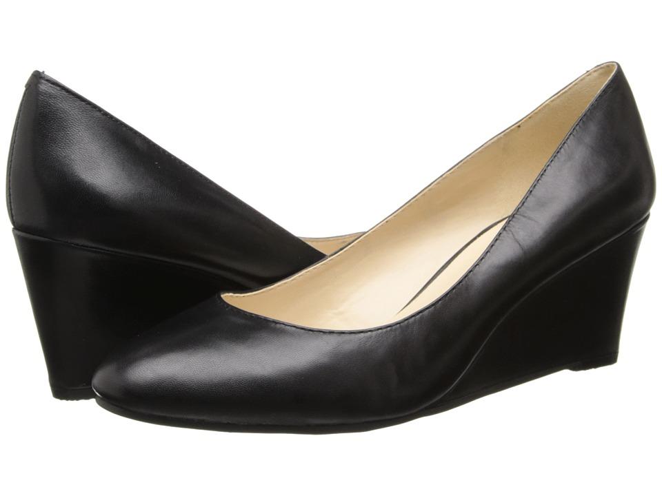 Nine West - ISpy (Black Leather) Women's Slip on Shoes