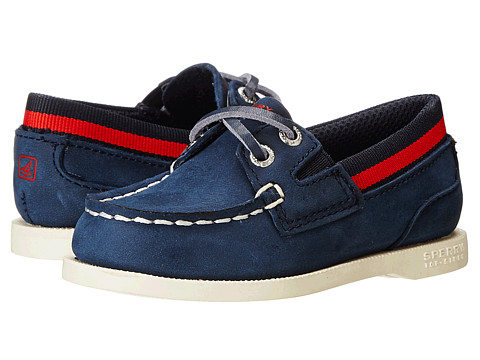 Sperry Top-Sider Kids - A/O Sport (Toddler/Little Kid) (Navy/Red) Boys Shoes