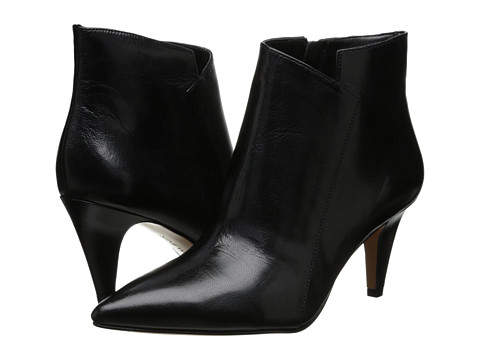 Nine West - JetLag (Black Leather) High Heels