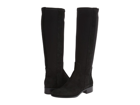 Nine West - JoeSmo (Black/Black Suede) Women's Pull-on Boots