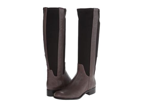 Nine West - JoeSmo (Grey/Black Leather) Women