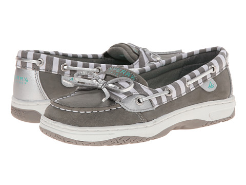 Sperry Top-Sider Kids - Angelfish (Little Kid/Big Kid) (Grey/Silver Bretton) Girls Shoes