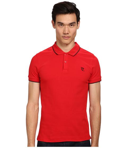 McQ - McQ Logo Polo (Traffic Red) Men