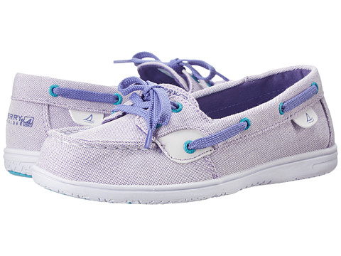 Sperry Top-Sider Kids - Shoresider (Little Kid/Big Kid) (Purple) Girls Shoes