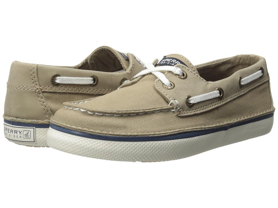 Sperry Kids - Cruz (Little Kid/Big Kid) (Khaki) Boys Shoes