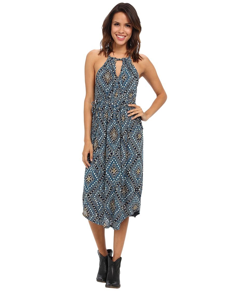 Lucky Brand - Goddess Dress (Blue Multi) Women's Dress