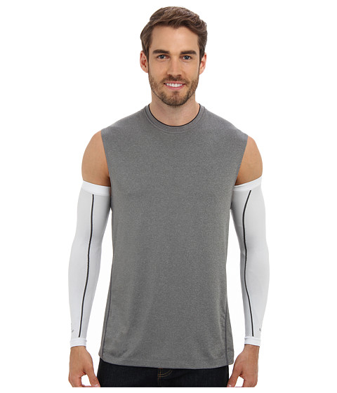 Salomon - Trail Warm Sleeve (White) Men's Workout