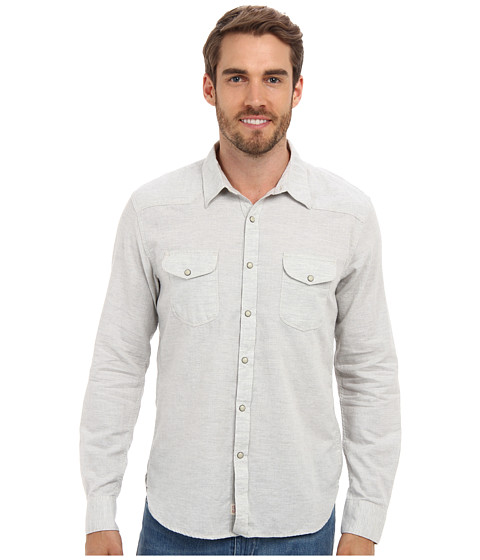 Lucky Brand - Keystone Western Shirt (Heather Gray) Men