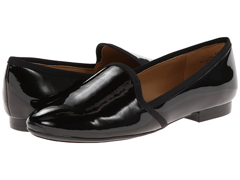 Nine West - Lobster (Black/Black Synthetic) Women's Slip on Shoes