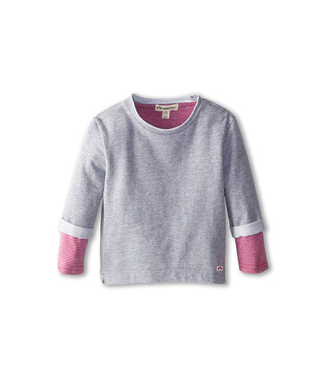 Appaman Kids - Super Soft Combo Sweatshirt (Toddler/Little Kids/Big Kids) (Heather Mist) Girl