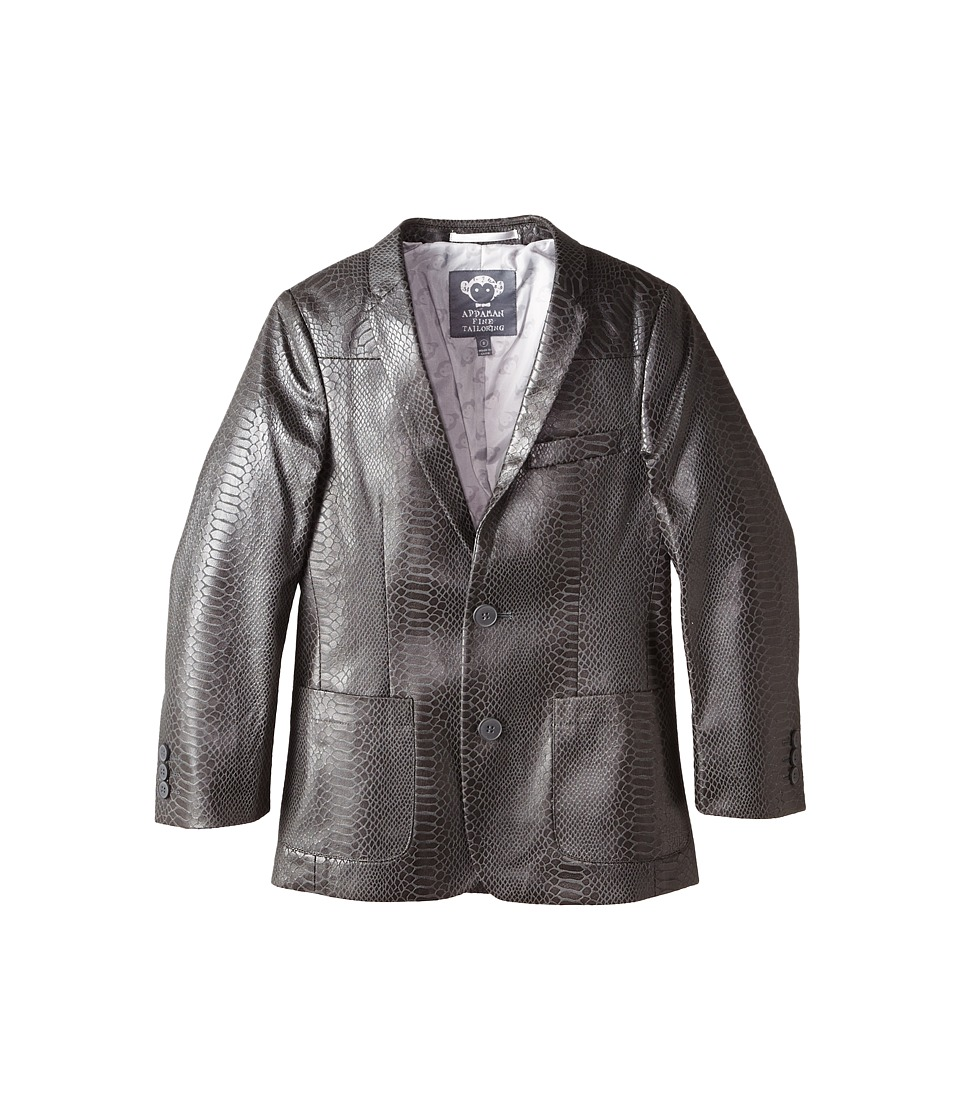 Appaman Kids - Snake Skin Fully Lined Blazer (Toddler/Little Kids/Big Kids) (Snake Skin) Boy