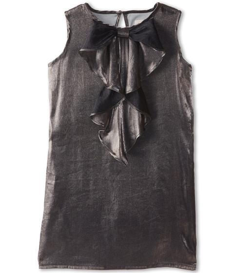 Appaman Kids - Cascading Bow Dress (Toddler/Little Kids/Big Kids) (Metallic Silver) Girl