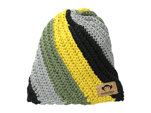 Appaman Kids - DJ Cap (Infant/Toddler/Little Kid/Big Kid) (Yellow Combo) Beanies
