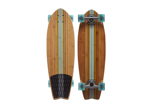 Globe - Pin City Cruiser (Clear Water/Green) Skateboards Sports Equipment