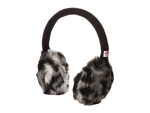 Appaman Kids - Earmuffs (Big Kids) (Black/White) Traditional Hats
