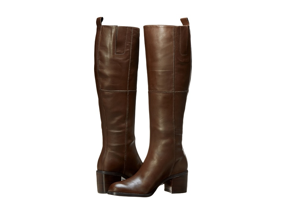 Nine West Olette (Brown Leather) Women
