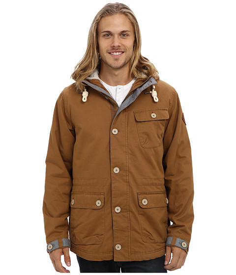 O'Neill - Offshore Jacket (Tobacco Brown) Men's Coat