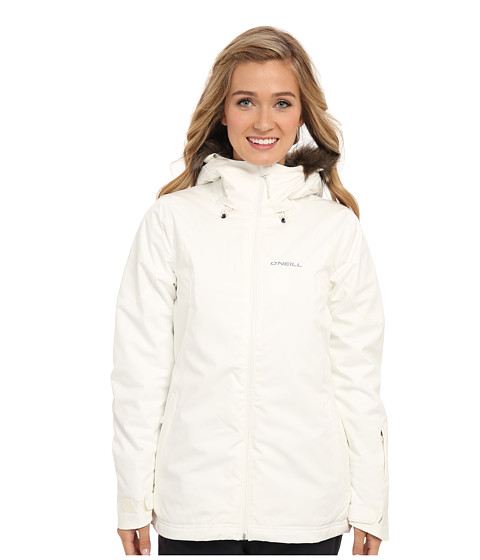 O'Neill - Feline Jacket (Powder White) Women's Coat