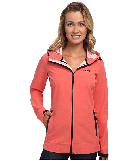 O'Neill - Reveal Softshell (Poppy Red) Women's Fleece