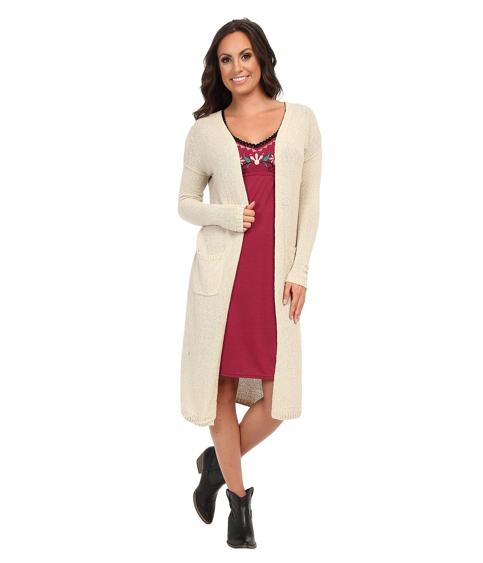 Lucky Brand - Stella Duster Cardigan (Natural) Women