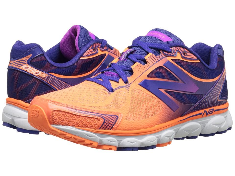 New Balance - W1080v5 (Orange/Purple) Women