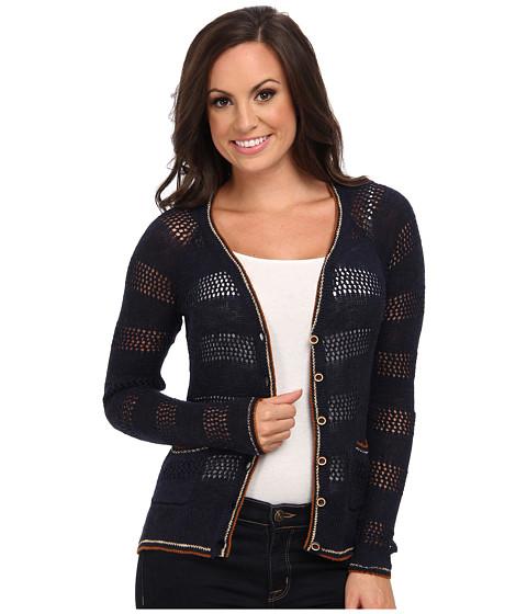 Lucky Brand - Carmine Cardigan (Sky Captain) Women's Sweater