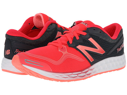 New Balance - Fresh Foam Zante (White/Pink) Women's Running Shoes