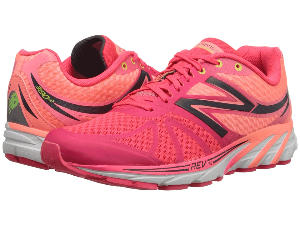 New Balance - W3190v2 (Pink/White) Women's Running Shoes