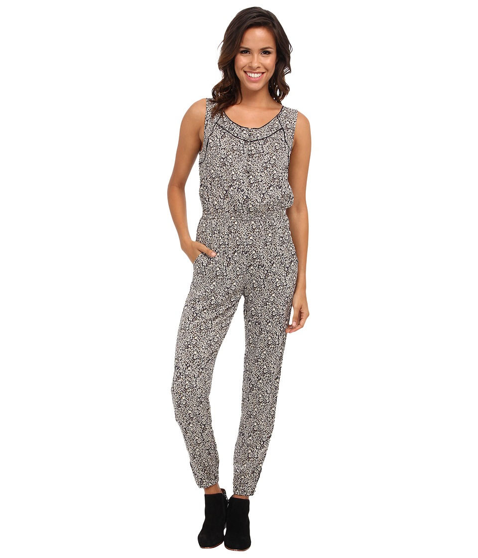 Lucky Brand - Rory Romper (Navy Multi) Women's Jumpsuit & Rompers One Piece
