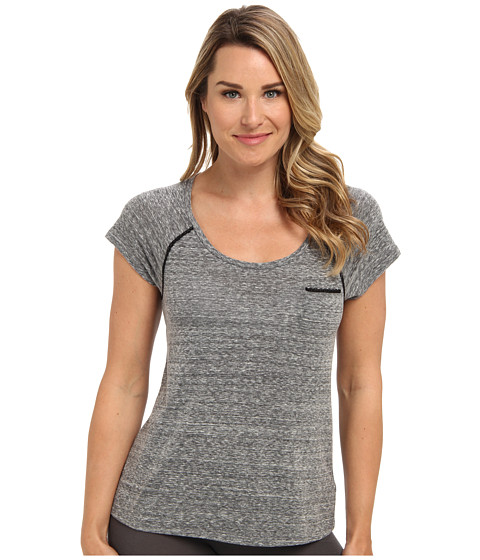 Steve Madden - Day Dreamer Raglan Tee (Pitch Black) Women