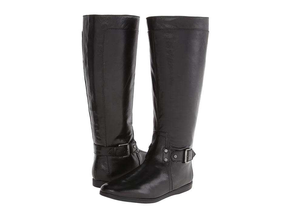 Nine West - Truthe (Black Leather) Women