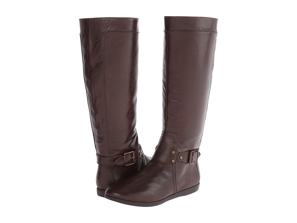 Nine West - Truthe (Dark Brown Leather) Women