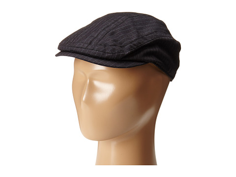 Appaman Kids - Newsboy Cap (Infant/Toddler/Little Kids/Big Kids) (Black Pinstripe) Caps