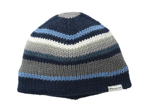 Appaman Kids - Super Soft Knit Nathan Hat (Infant/Toddler/Little Kids/Big Kids) (Blue Stripe) Caps