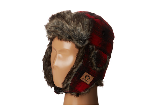Appaman Kids - Faux Fur Muscle Trapper Hat (Infant/Toddler/Little Kids/Big Kids) (Red) Caps