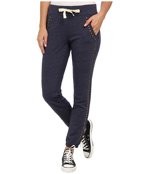 Lucky Brand - Mila Studded Sweatpant (Navy Heather) Women's Casual Pants