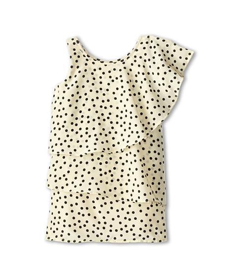 Appaman Kids - Layered One Shoulder Dress (Toddler/Little Kids/Big Kids) (Dots) Girl's Dress