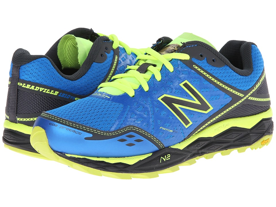 New Balance - WT1210V2 (Blue/Yellow) Women's Running Shoes