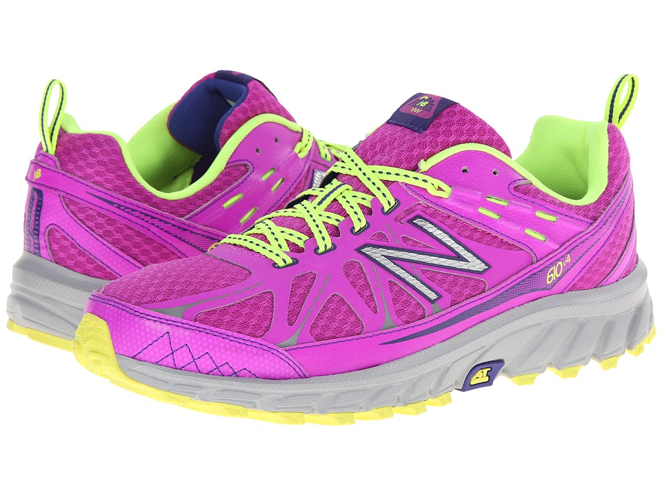 New Balance - WT610v4 (Purple/Yellow) Women's Running Shoes